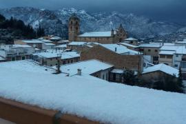 Nieve en Bunyola