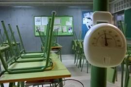 Un instituto de Ibiza, sin calefacción en plena ola de frío