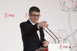 Armengol se alinea con Patxi López, aunque «queda mucho» para el Congreso Federal del PSOE