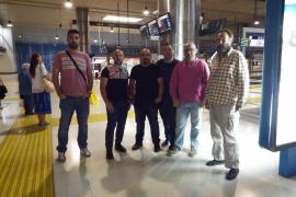 Los trabajadores del tren amplían la huelga al mes de febrero