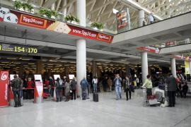 El aeropuerto de Son Sant Joan vuelve a operar con normalidad