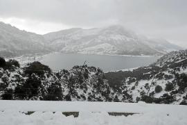 El temporal de nieve da paso a otro de lluvia en Mallorca