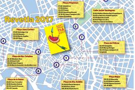 Una fiesta con 40 artistas en ocho plazas