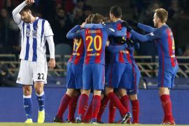 El Barça encarrila las semifinales de la Copa del Rey
