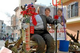 Los socialistas de Manacor ya queman a Felipe González