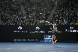 Federer se exhibe, Venus aplasta y Garbiñe convence en el Abierto de Australia