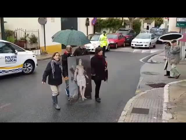 Devoción en es Capdellà por Sant Sebastià
