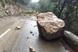 Desprendimientos carretera Coll de Sóller