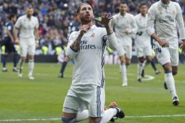 Ramos le otorga el campeonato de invierno a un Real Madrid sin confianza