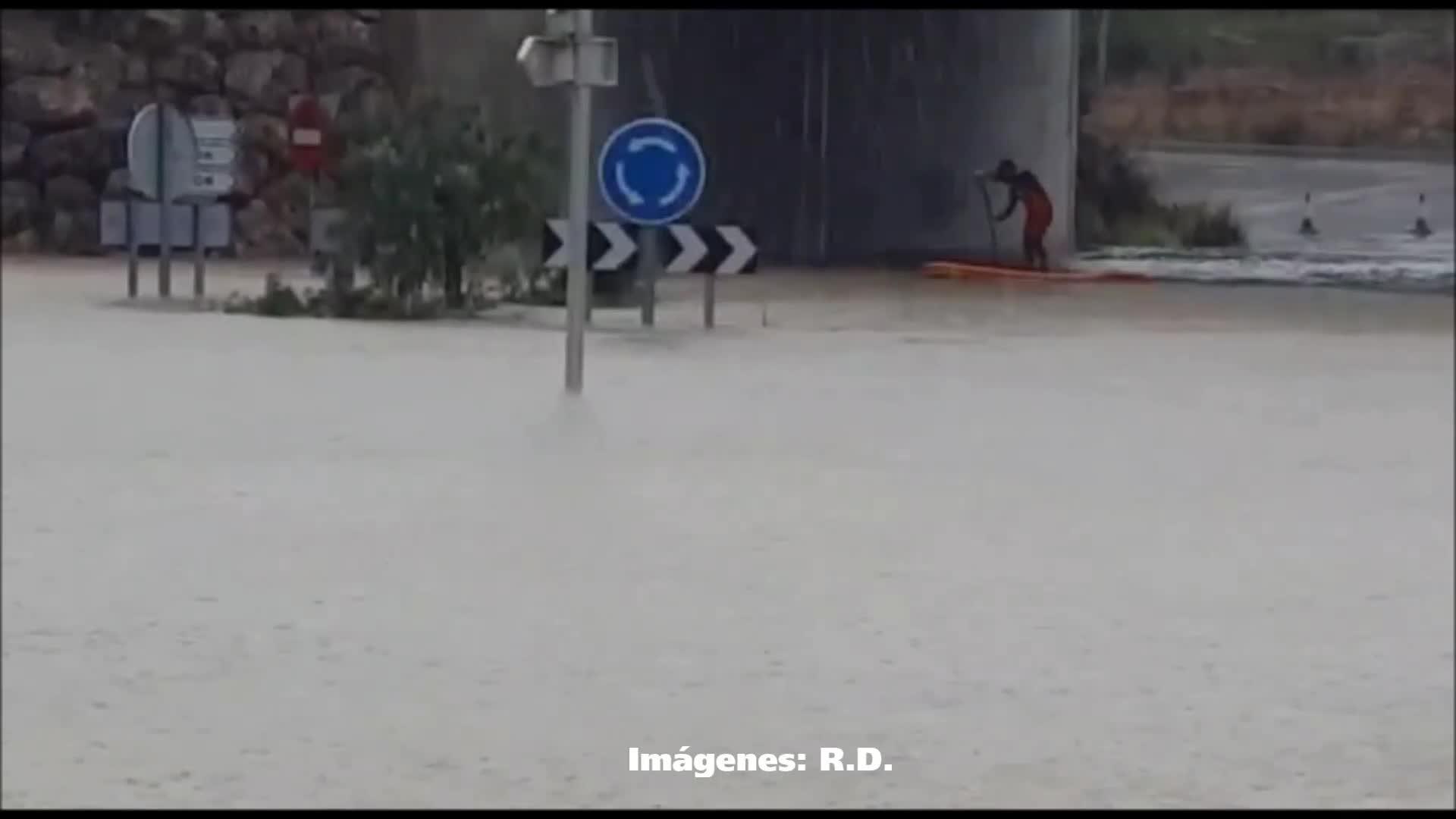 Numerosos incidentes en Mallorca por el temporal de lluvia