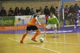 El Palma Futsal se hace fuerte en Navarra