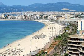 La Platja de Palma, enclave pionero del turismo de masas