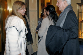 Genoveva Casanova y Mario Vargas Llosa