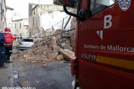 Se derrumba una casa en Porreres sin causar víctimas