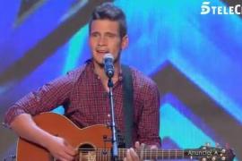 El mallorquín Bruno Sotos emociona al jurado de Got Talent