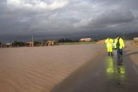 Ocho carreteras siguen cerradas al tráfico este lunes en Mallorca