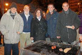 Noche de 'foguerons' en Son Dameto