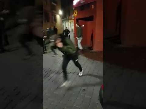 Seis detenidos por la multitudinaria paliza a una joven en un pub de Murcia
