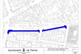 Empieza la segunda fase de las obras de mejora de las aceras de la calle Alfons el Magnànim
