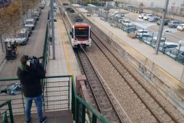 Atropello en las vías del tren de Palma
