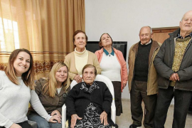 Agnès Planells Torres: «El secreto para llegar a los cien años es trabajar mucho y comer poco»
