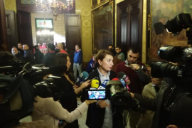 Marga Durán critica que se tire agua al mar y que los palmesanos sigan pagando más