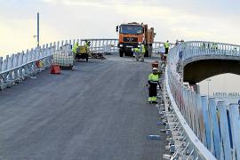El puente de Son Espases se abre al tráfico