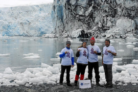 La UIB investiga en la Antártida