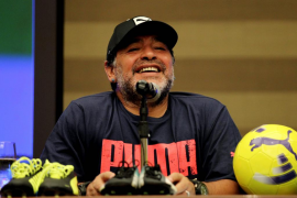 Maradona recuerda que comenzó a consumir droga con 24 años en Barcelona