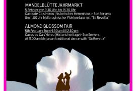 La VIII Fira de la Flor d'Ametler se celebra en Son Servera