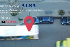 PalmaActiva llevará a cabo una jornada para contratar a 30 chóferes de autocar
