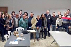 Regidores y alcaldes del PP del Pla de Mallorca se reúnen para hablar de la gestión municipal
