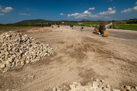 EL GOB critica el proyecto de reforma integral del Camí de Conies, en Manacor