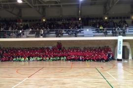 El Palma Futsal exhibe su cantera en Manacor