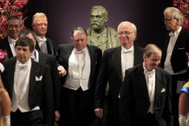 Nobel Prize laureates arrive for the Nobel prizes award ceremony in Stockholm
