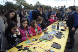 Miles de personas disfrutan de Sant Sebastià Petit en el Parc de sa Riera