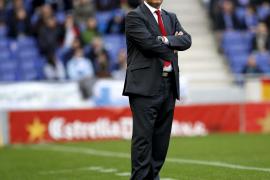 Manzano califica de «muy valioso» el punto sumado ante el Espanyol