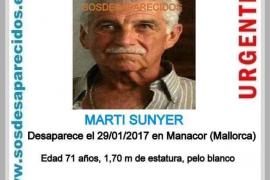 Buscan a un hombre desaparecido en Manacor
