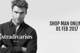 Inditex refuerza su apuesta por la moda masculina con el lanzamiento de Stradivarius Man