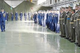 Emotivo acto en Son Sant Joan para celebrar la patrona del Ejército del Aire