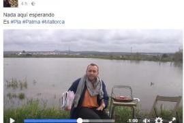 'Lorencito' refleja en sus vídeos la indignación de los habitantes de Sant Jordi a causa de las inundaciones