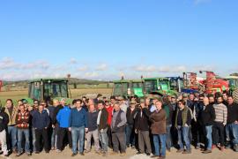 Tractorada contra la política agraria del Govern