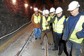 Recta final de las obras del túnel del tren de Sóller, que reinicia el servicio el próximo lunes