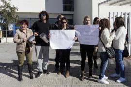 Protesta de los trabajadores de Can Raspalls y Can Blai