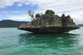 Descubiertos restos de un antiguo continente bajo las aguas de isla Mauricio