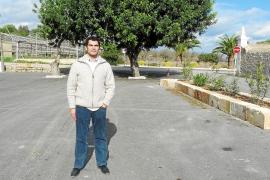 El Ajuntament construye un nuevo aparcamiento para 150 vehículos en el cementerio