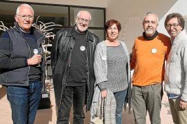 Esculturas en el CCA de Andratx