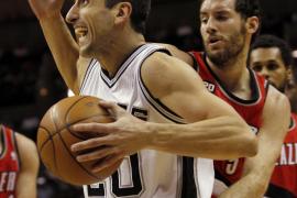 Derrota de los Trail Blazers de Portland ante los Spurs de San Antonio