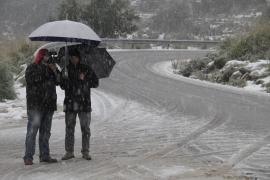 Mañana baja de nuevo la cota de nieve a los 600 metros en Mallorca