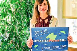 Podemos propone una tarifa plana para los vuelos interislas de 30 euros